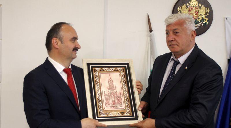 Областният управител на Област Пловдив се срещна с новия областен управител на Одрин