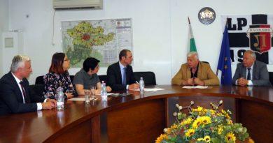 Областният управител Здравко Димитров се срещна с представители на EVN България