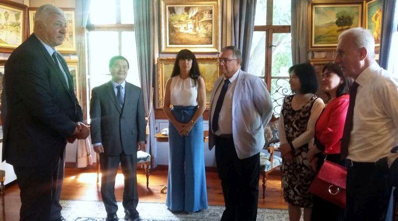 Областният управител Здравко Димитров се срещна с посланика на Китайската народна република