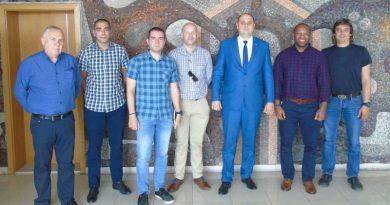 Главният секретар се срещна с български и американски военнослужещи във връзка с предстоящо учение на НАТО в област Пловдив на 16 срещу 17 юни 2019 г.