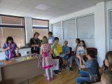 Награждаване на победителите в Областното състезание по български език