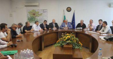 Обсъждане на проектите Развитие на железопътен възел Пловдив и Западен обходен път на Пловдив