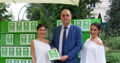 Областният управите на област Пловдив бе награден с отличието Най-много почистени места на кампанията Да изчистим България заедно