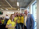 Областният управител поздрави служителите в новия Керхер Център Пловдив