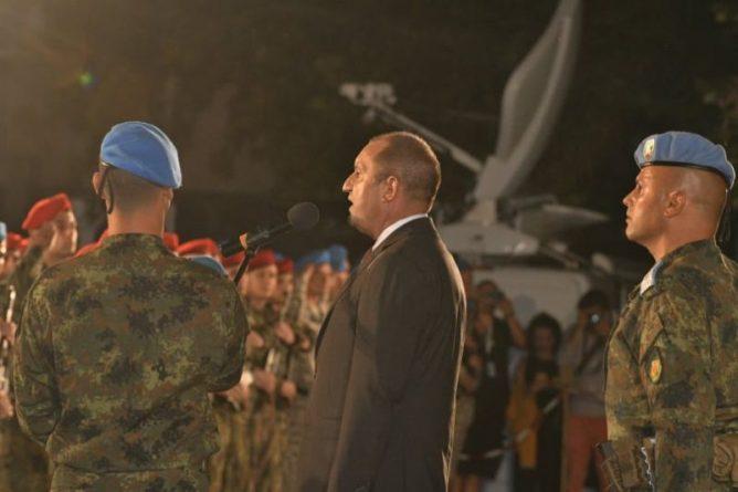 Областният управител Здравко Димитров присъства на тържествената заря-проверка