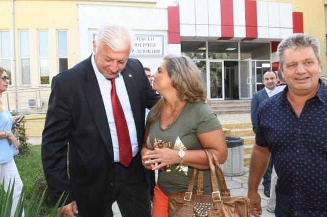 Областният управител Здравко Димитров се срещна екипа на Комплексен онкологичен център – Пловдив