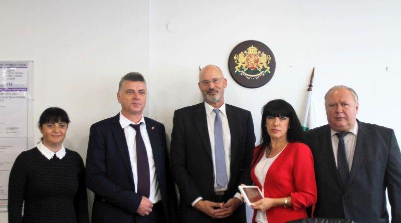 Заместник областните управители посрещнаха делегация от провинция Мекленбург-Предна Померания