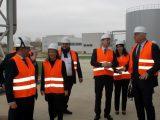 Областният управител Дани Каназирева поздрави ръководството на EVN Топлофикация във връзка с изграждането на нови енергийни мощности
