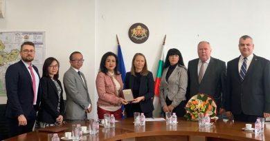 Областният управител Дани Каназирева се срещна с посланика на Индонезия в България, Албания и Северна Македония