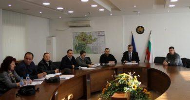 Заседание на комисията за разглеждане и решаване на предложенията за промени в транспортната схема на Пловдивска област