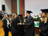 Дани Каназирева връчи дипломите на отличниците от Аграрния университет в Пловдив