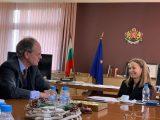 Дани Каназирева посрещна немския посланик Н.Пр. Кристоф Айххорн