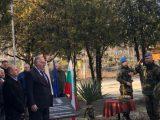 Заместник областният управител Петър Петров откри възпоменателна плоча на Втора железопътна бригада в Пловдив