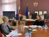Посланикът на Великобритания  Ема Хопкинс и  областният управител Дани Каназирева с конкретни действия за  създаването на Център за подкрепа на жертвите на сексуално насилие в Пловдив