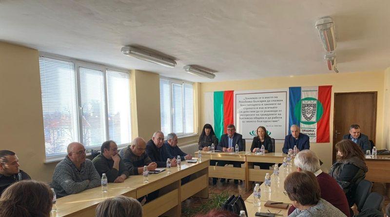 Дани Каназирева и кметът на Брезово Христо Енков обсъдиха проблемите с водоснабдяването в общината