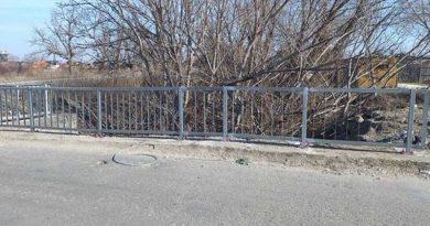 След три години мостът на Марково има нов парапет