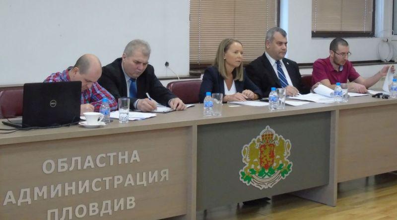 Областната комисия по безопасност на движението по пътищата на територията на област Пловдив проведе първото си заседание за тази година