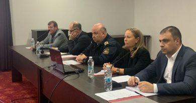 Областният управител Дани Каназирева присъства на отчета на РД Пожарна безопасност и защита на населението - Пловдив
