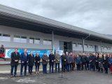ВМЗ откри нов цех в Иганово, лентата прерязаха областният управител Дани Каназирева и изпълнителният директор инж. Иван Гецов
