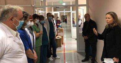 Каназирева: Транспортна болница в Пловдив с безупречна организация и алгоритъм на работа в приемния кабинет и в отделението за COVID-19