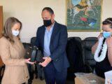 Пречистващи въздуха апарати за лично предпазване на медиците получи  УМБАЛ Свети Георги