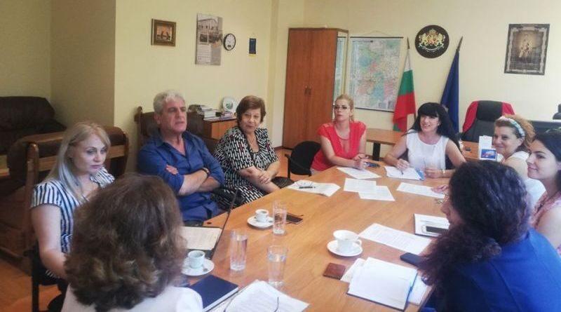 Проведе се първото заседание на Областната комисия по преброяване