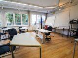 """Фондация """"Германо-Български център за срещи"""" е създадена през 1993 г. като """"Център за срещи на провинция Саксония-Анхалт"""", а през 2000 г. се преименува на """"Германо-Български център за срещи – Пловдив."""