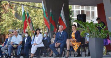Заместник-областният управител Евелина Апостолова присъства на откриването на учебната година в Аграрния университет