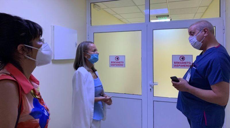 Каназирева: Още две болници в Пловдив разкриват отделения за лечение на Ковид-19