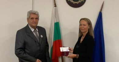 На церемония в Областна администрация Съюзът на ветераните от войните в България връчи медали 75 години от победата над фашизма