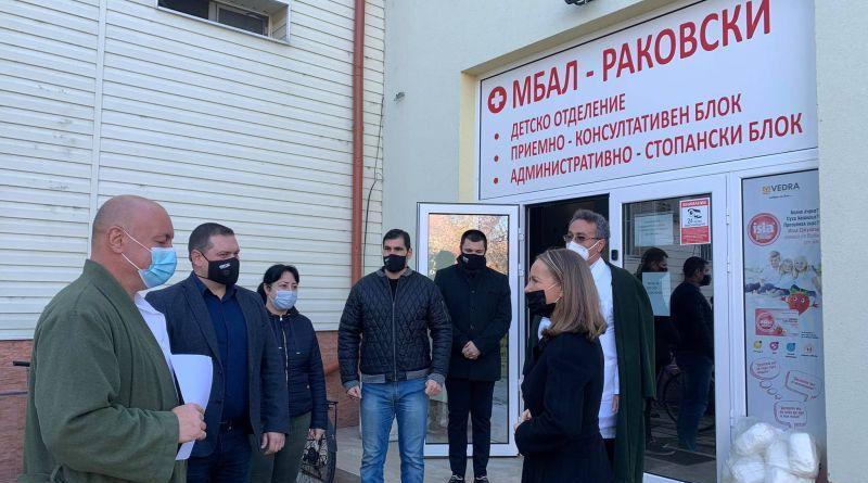 Антигенни тестове и предпазни средства получиха болницата и МЦ в Раковски, обособена е и ковид – зона
