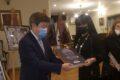 """Заместник-областният управител Евелина Апостолова – гост на изложбата """"Абай, чрез неговото творчество"""""""