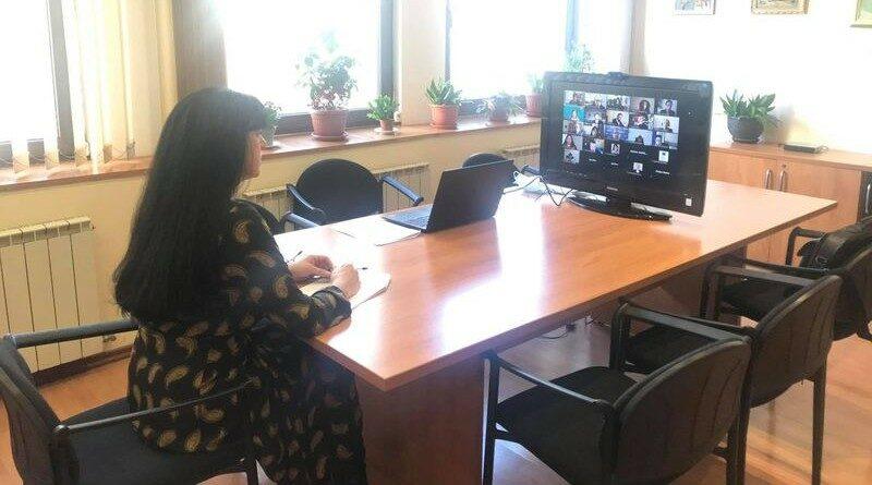 Заместник- областният управител Евелина Апостолова взе участие в онлайн конференция за дигиталното бъдеще на България