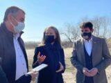 Областният управител Дани Каназирева ще съдейства за изграждането на водопровод в квартал на Стамболийски