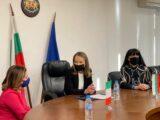 Областният управител Дани Каназирева се срещна с  италианския посланик Н. Пр.  Джузепина Дзара