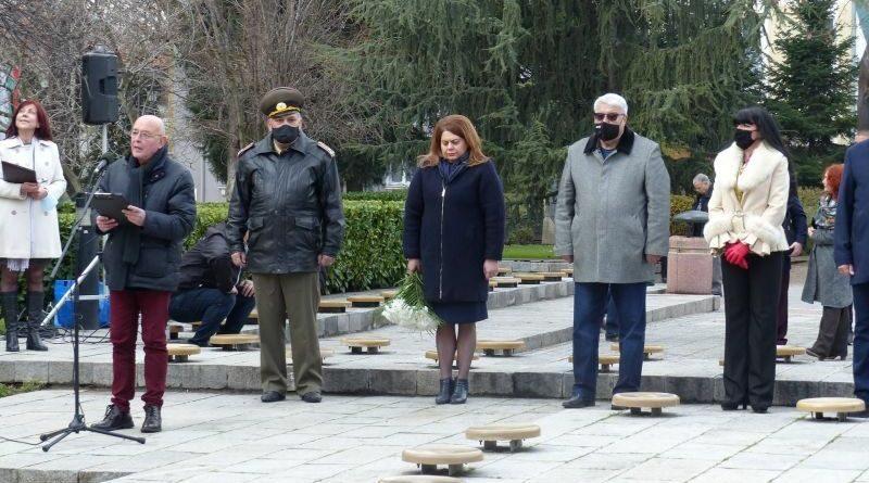 Заместник-областният управител Евелина Апостолова присъства на тържественото отбелязване на 167-та годишнина от рождението на Стефан Стамболов