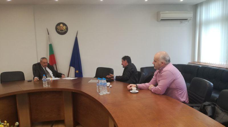 """Областният управител се срещна с представители на КТ """"Подкрепа"""""""