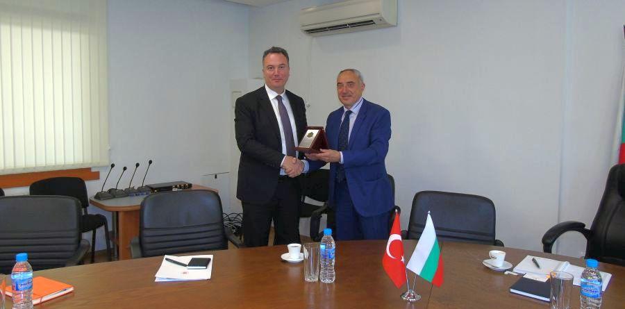Ангел Стоев прие генералния консул на Република Турция