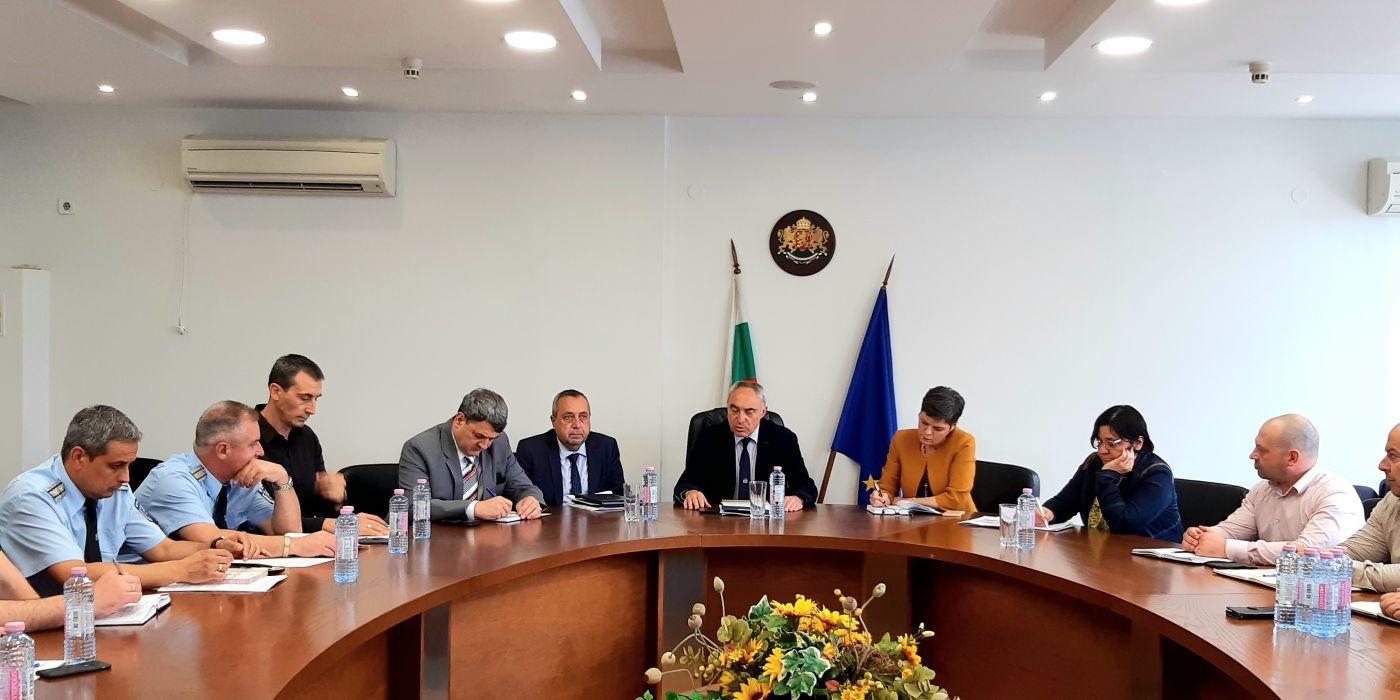 Ангел Стоев поиска всички сигнали за нередности около вота да бъдат докладвани веднага в ръководството на ОД на МВР - Пловдив и прокуратурата