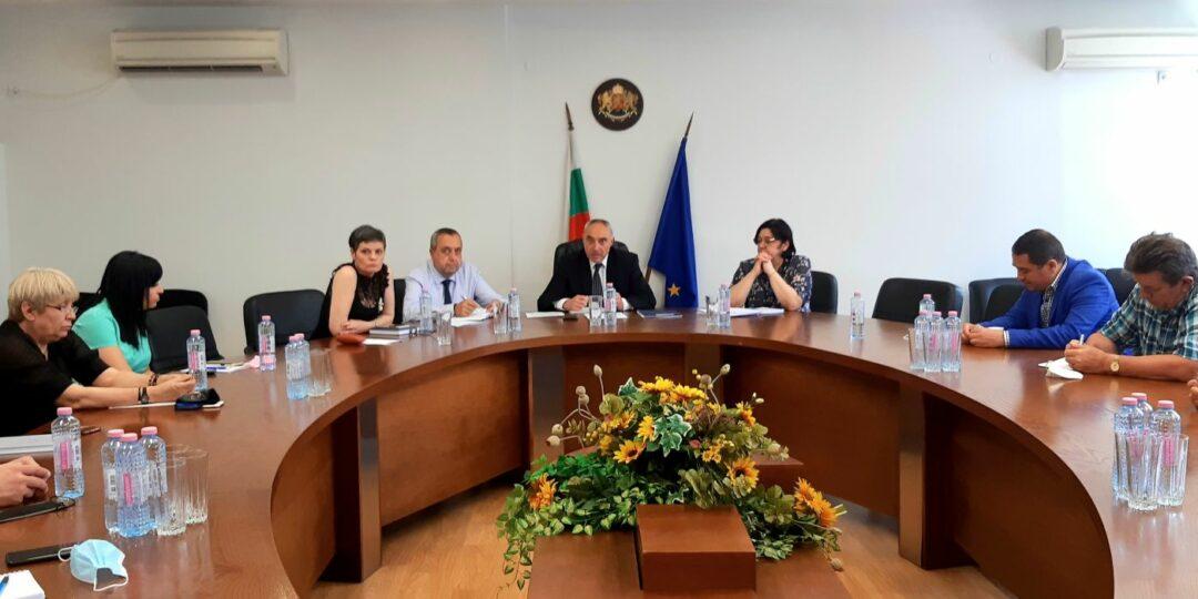 Ангел Стоев проведе работно съвещание с представители на държавни дружества и ведомства