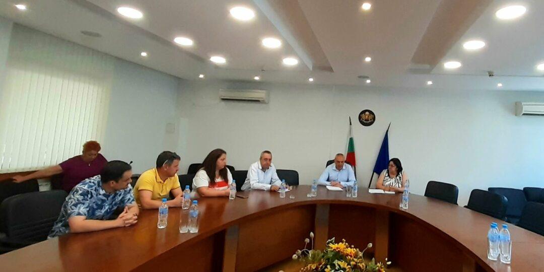 Среща на Областна администрация с РИК-17