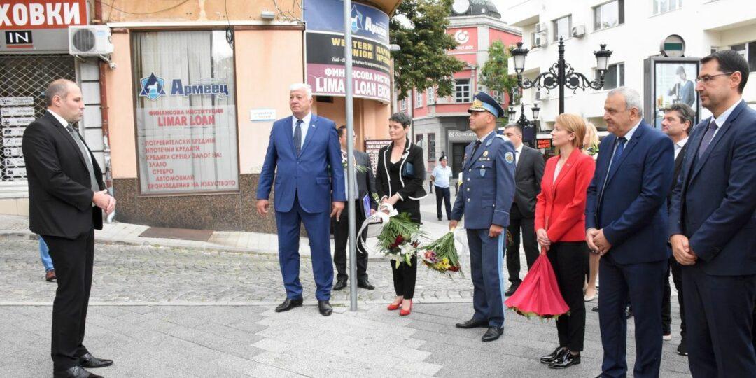 Заместник областният управител Даниела Николова почете Захарий Стоянов и капитан Райчо