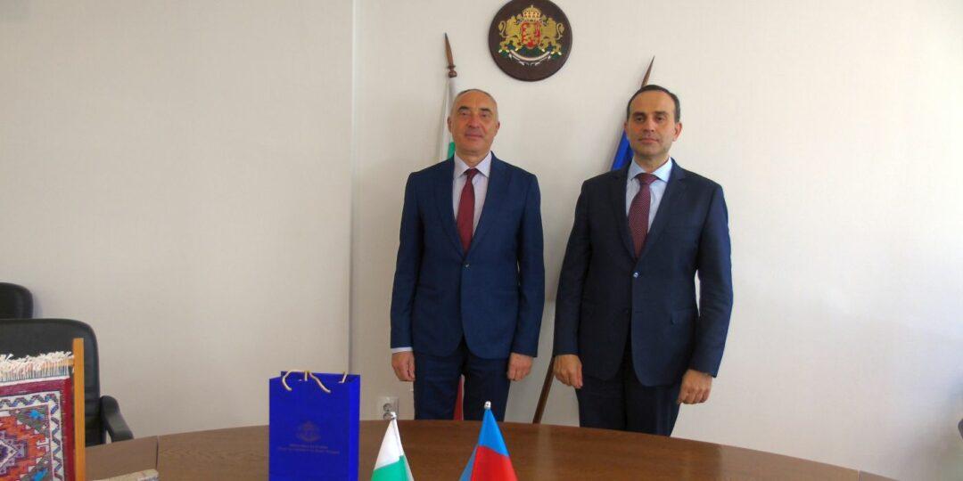 Областният управител Ангел Стоев прие посланика на Република Азербайджан Н. Пр. г-н Хюсейн Джалал Оглу Хюсейнов