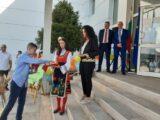 Областният управител Ангел Стоев към учениците от Гимназията по информатика: Вие учите в знаково училище, на добър час!