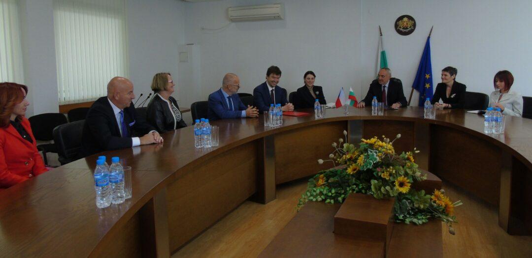 Областният управител се срещна с посланика и с почетния консул на Чешката република