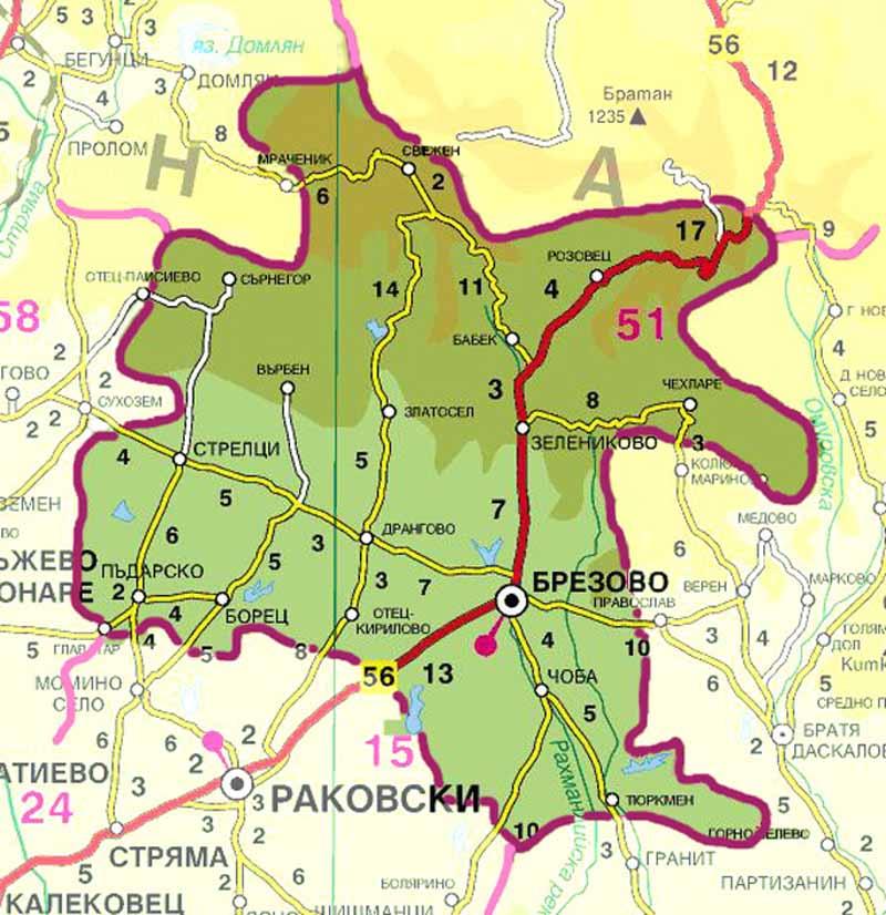 Решение № 459/2019г. на ОбС Брезово