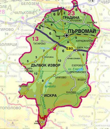 Община Първомай