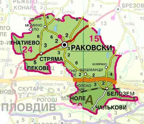 Община Раковски