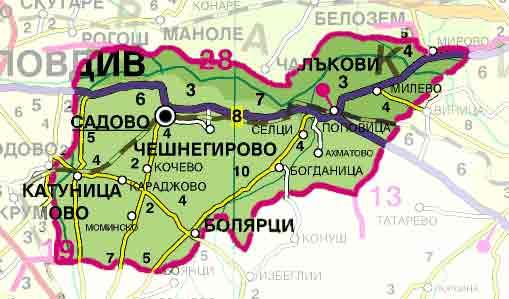 Община Садово